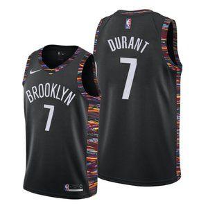 Brooklyn Nets Kevin Durant #7 NBA City Jersey